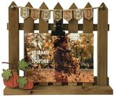 "Celebrate Fall Together ""Blessed"" Fence 4"" x 6"" Photo Clip Frame"