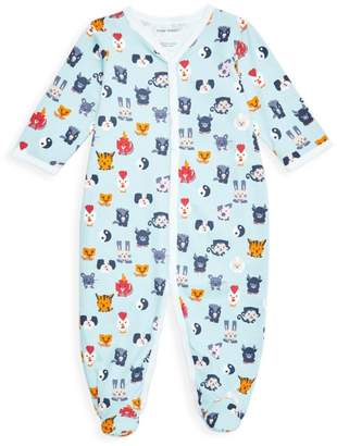 Roller Rabbit Baby's Zoo Footie Pajamas