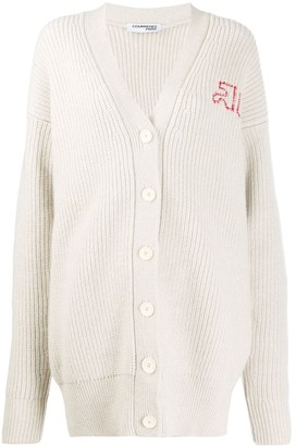Courreges oversized knit cardigan