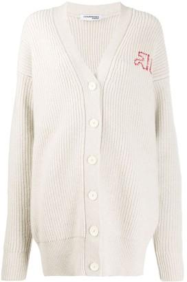 Courreges Oversized Knit Cardigan
