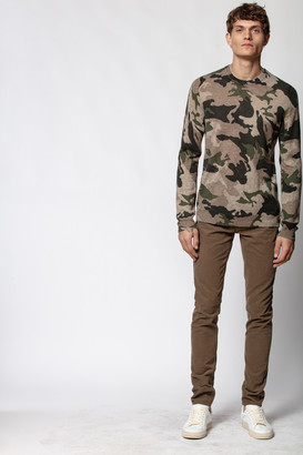 Zadig & Voltaire Kennedy Camou Sweater