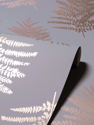 Arthouse Metallic Fern Gold Wallpaper