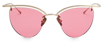 Smoke X Mirrors The Line 4 52MM Cateye Sunglasses