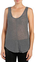 Paige Striped Scoopback Tank