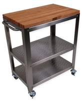 John Boos Culinarte Kitchen Cart with Removable Top