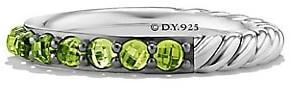 David Yurman Cable Berries Gemstone & Sterling Silver Band Ring