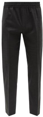 Acne Studios Ryder Elasticated-waist Wool Trousers - Grey