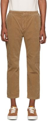 Remi Relief Beige Corduroy Easy Trousers