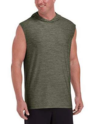 Amazon Essentials Men's Tech Stretch Sleeveless Pullover Hoodie