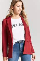 Forever 21 Open-Front Knit Blazer