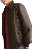 JCPenney Excelled Leather Excelled Lambskin Leather Bomber Jacket