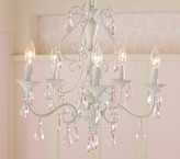 Pottery Barn Kids Pink Alyssa Chandelier, Simply White