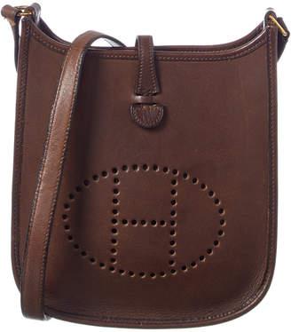 Hermes Brown Leather Evelyne I Tpm