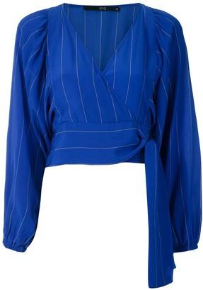 Eva Silk Puff Sleeves Blouse