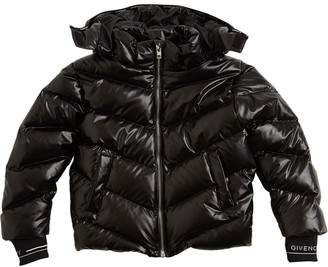 Givenchy Nylon Down Jacket W/ Hood