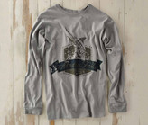 Madda Fella Long Sleeve Excursions - Marlin Badge Shark Gray