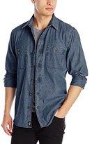 Dickies Men's Long-Sleeve Chambray Shirt