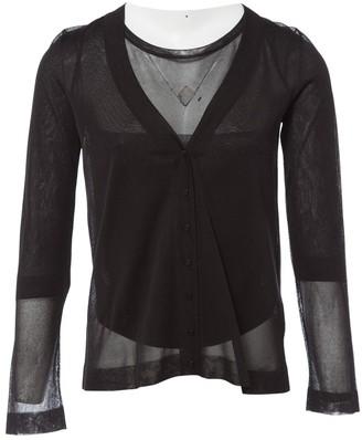 Alaia Black Silk Knitwear for Women