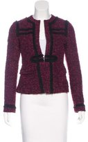 Nanette Lepore Long Sleeve Bouclé Jacket