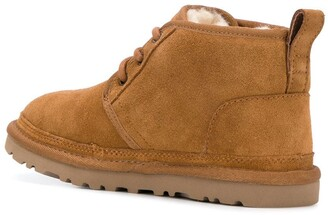 UGG Round Toe Lace Up Ankle Boots
