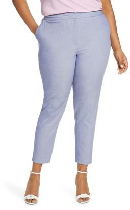 Halogen Chambray Pants (Plus Size)