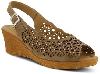 Spring Step Saibara Women's Slingback Wedge Sandals