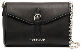 Calvin Klein Chain-Link Strap Shoulder Bag
