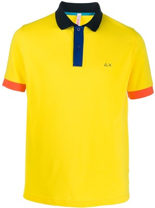 Sun 68 Logo Polo Shirt