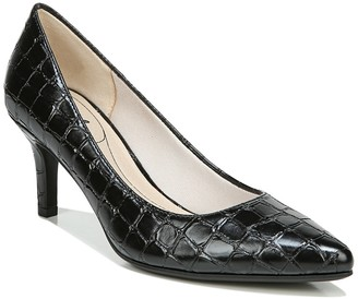 LifeStride Sevyn Croc Embossed Pump - Wide Width Available