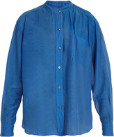 Etoile Isabel Marant Lixy cotton and silk-blend shirt