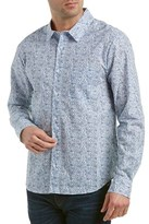 Michael Stars Standard Fit Woven Shirt.