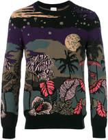 Paul Smith Midnight jacquard sweater