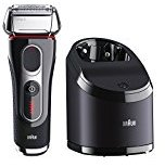 Braun Series 5 5190cc Electric Foil Shaver for Men with Clean & Charge Station, Electric Men's Shaver, Razors, Shavers, Cordless Shaving System