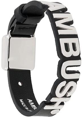 Ambush Logo Plaque Bracelet