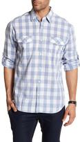 James Campbell Kelley Long Sleeve Plaid Woven Shirt