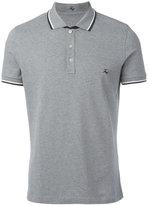 Fay striped detail polo shirt - men - Cotton/Spandex/Elastane - L