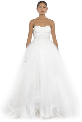 Dolce & Gabbana Strapless Ball Gown