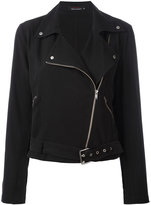 Equipment biker jacket - women - Silk - M