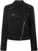 Equipment biker jacket - women - Silk - M
