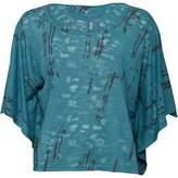 Converse Womens Renita Butterfly Lightweight T-Shirt Hydro
