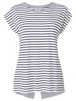 Jeanswest Bria Multi Stripe Tank-Deep Iris/White-XXS