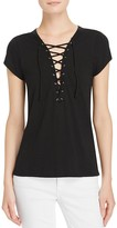 Pam & Gela Lace-Up Tee