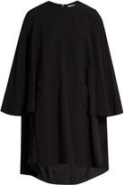 Balenciaga Crepe cape dress
