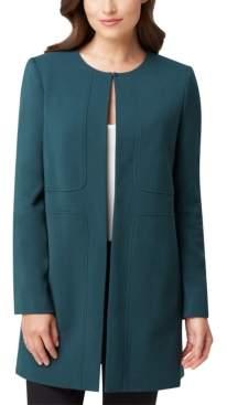 Tahari ASL Petite Collarless Topper Jacket