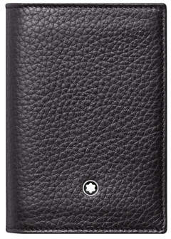 Montblanc Meisterstück Soft Grain Business Card Holder with gusset