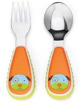 Skip Hop Zootensils Fork and Spoon Utensil Set, Darby