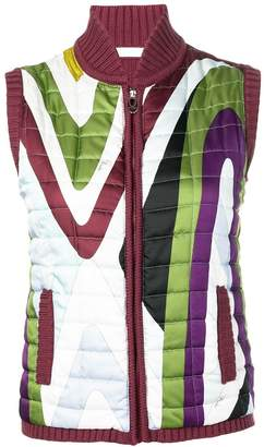 Emilio Pucci Pre Owned 2000's Quilted Gilet