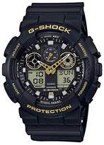 G-Shock GA100GBX-1A9 Classic Black Gold Men's Watch