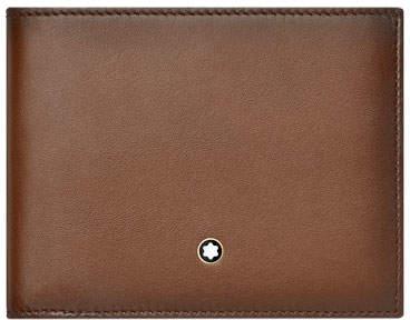 Montblanc Leather Bifold Wallet, Brown