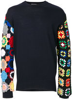 J.W.Anderson crochet sleeves pullover